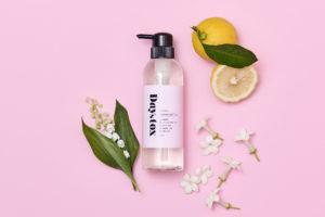 汚れをオフしながら、リフレッシュできるフレッシュフローラル&フルーツの香りです。