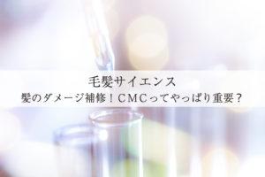 【毛髪サイエンス】髪のダメージ補修!CMCってやっぱり重要?